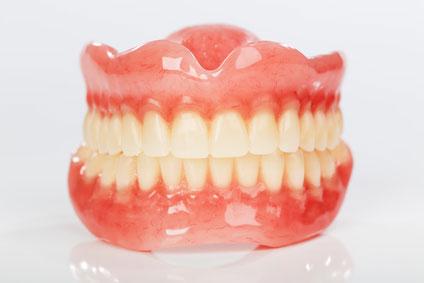 nettoyage des prothèses dentaires