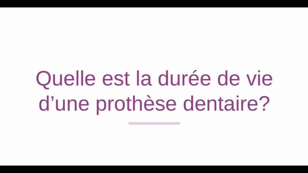 Quelle est la durée de vie des prothèses dentaires sur implants?
