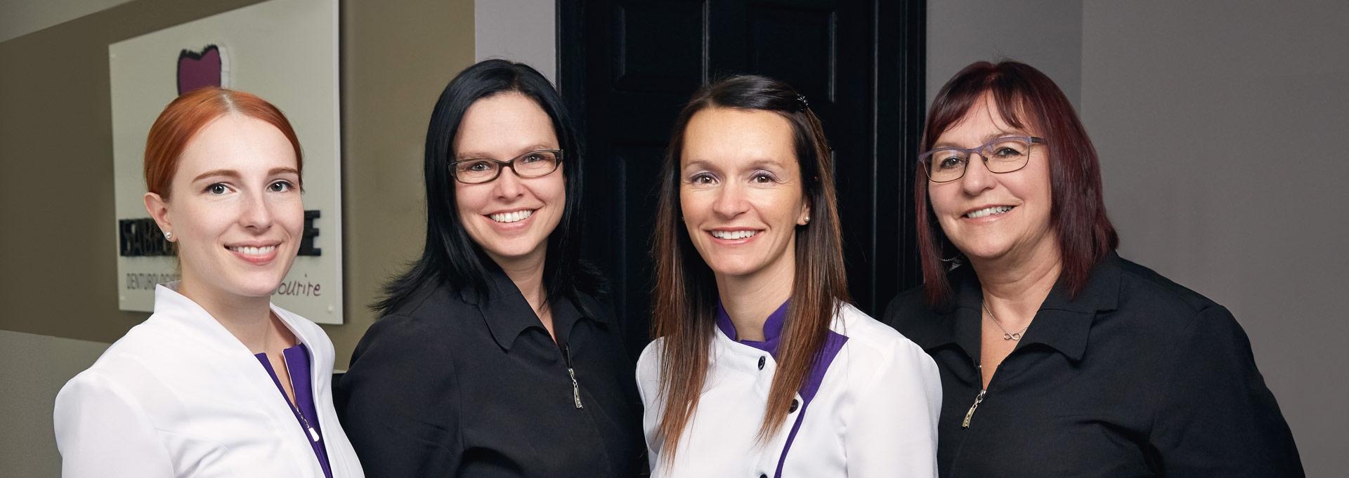 L'équipe d'Isabelle Gaudette, denturologiste